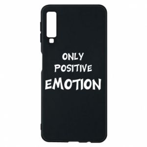 Etui na Samsung A7 2018 Only positive emotion