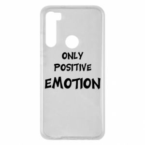 Etui na Xiaomi Redmi Note 8 Only positive emotion