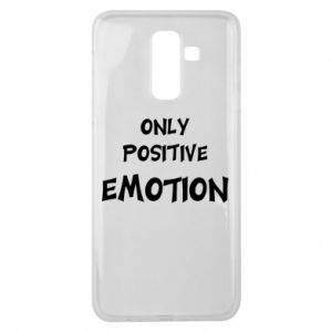 Etui na Samsung J8 2018 Only positive emotion