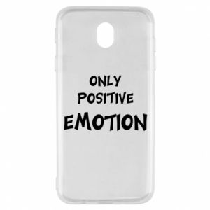 Etui na Samsung J7 2017 Only positive emotion
