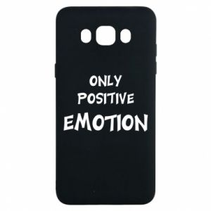 Etui na Samsung J7 2016 Only positive emotion
