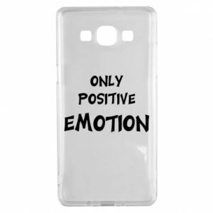 Etui na Samsung A5 2015 Only positive emotion