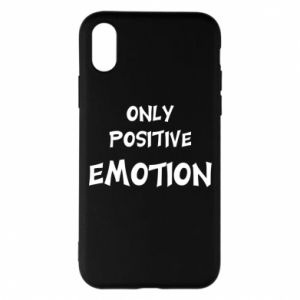 Etui na iPhone X/Xs Only positive emotion