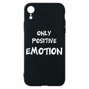 Etui na iPhone XR Only positive emotion