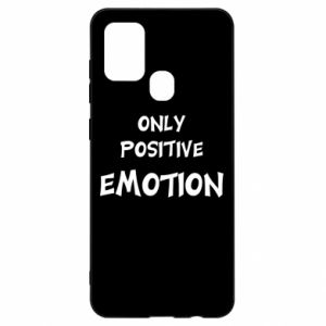 Etui na Samsung A21s Only positive emotion