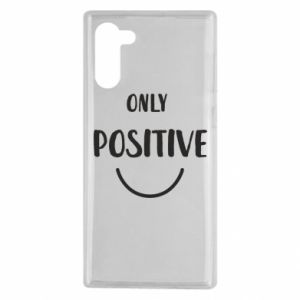 Samsung Note 10 Case Only  Positive!