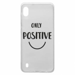 Samsung A10 Case Only  Positive!