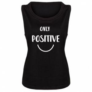 Damska koszulka bez rękawów Only  Positive!