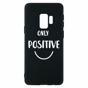Samsung S9 Case Only  Positive!