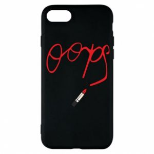Phone case for iPhone 7 Oops