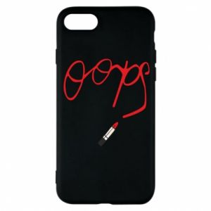 Phone case for iPhone 8 Oops