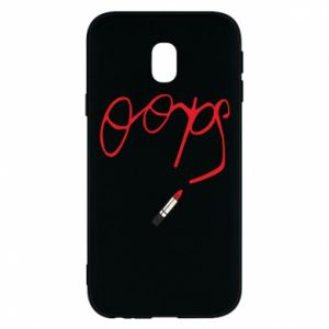 Phone case for Samsung J3 2017 Oops