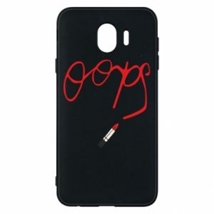 Phone case for Samsung J4 Oops