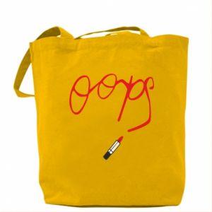 Bag Oops
