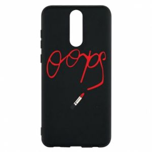 Phone case for Huawei Mate 10 Lite Oops
