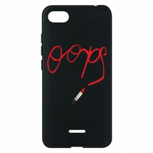 Phone case for Xiaomi Redmi 6A Oops