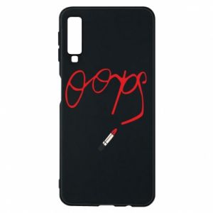 Phone case for Samsung A7 2018 Oops