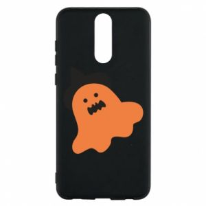 Phone case for Huawei Mate 10 Lite Orange ghost in hat - PrintSalon