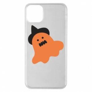 Etui na iPhone 11 Pro Max Orange ghost in hat