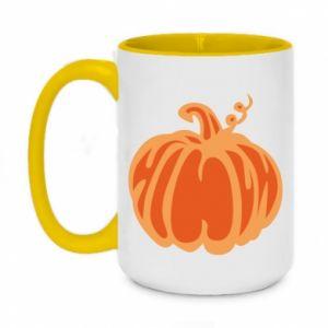 Kubek dwukolorowy 450ml Orange pumpkin