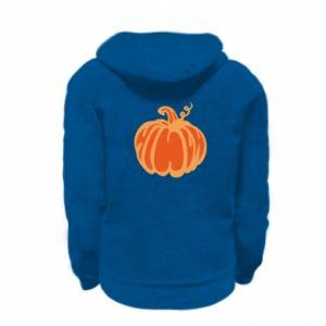 Bluza na zamek dziecięca Orange pumpkin