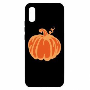 Etui na Xiaomi Redmi 9a Orange pumpkin