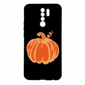 Etui na Xiaomi Redmi 9 Orange pumpkin