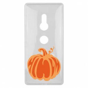 Etui na Sony Xperia XZ2 Orange pumpkin