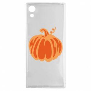 Etui na Sony Xperia XA1 Orange pumpkin