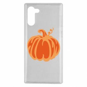 Etui na Samsung Note 10 Orange pumpkin