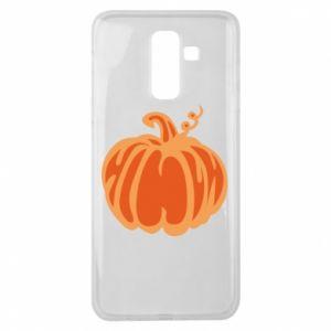 Etui na Samsung J8 2018 Orange pumpkin