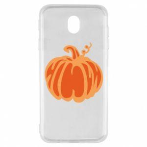 Etui na Samsung J7 2017 Orange pumpkin