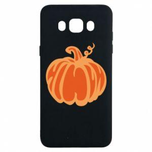 Etui na Samsung J7 2016 Orange pumpkin