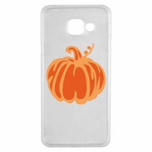 Etui na Samsung A3 2016 Orange pumpkin