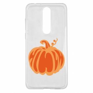 Etui na Nokia 5.1 Plus Orange pumpkin