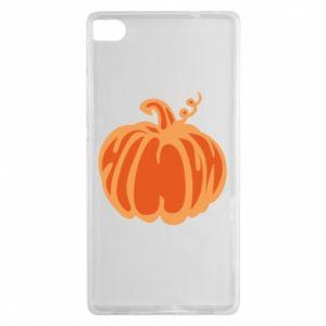 Etui na Huawei P8 Orange pumpkin