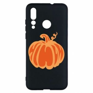 Etui na Huawei Nova 4 Orange pumpkin