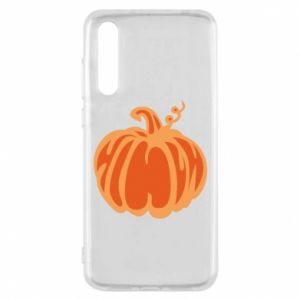 Etui na Huawei P20 Pro Orange pumpkin