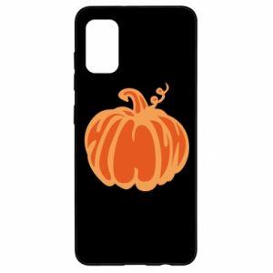 Etui na Samsung A41 Orange pumpkin