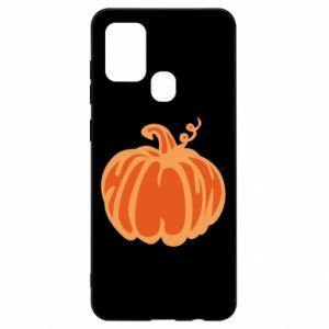 Etui na Samsung A21s Orange pumpkin