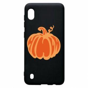 Etui na Samsung A10 Orange pumpkin