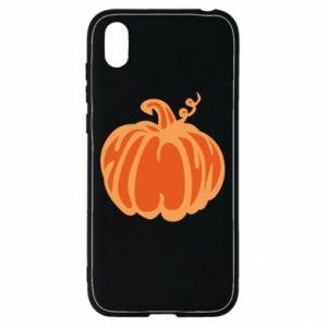 Etui na Huawei Y5 2019 Orange pumpkin