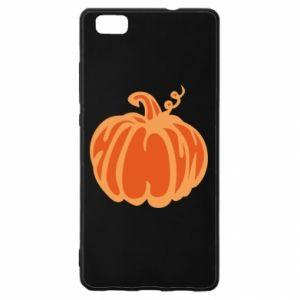 Etui na Huawei P 8 Lite Orange pumpkin