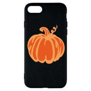 Etui na iPhone SE 2020 Orange pumpkin
