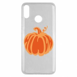 Etui na Huawei Y9 2019 Orange pumpkin