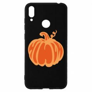 Etui na Huawei Y7 2019 Orange pumpkin