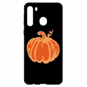 Etui na Samsung A21 Orange pumpkin