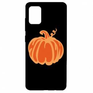 Etui na Samsung A51 Orange pumpkin