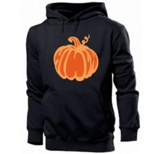 Men's hoodie Orange pumpkin