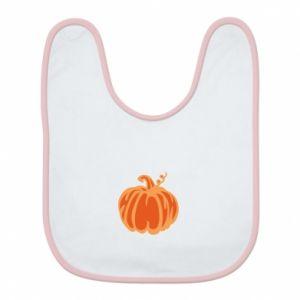 Śliniak Orange pumpkin